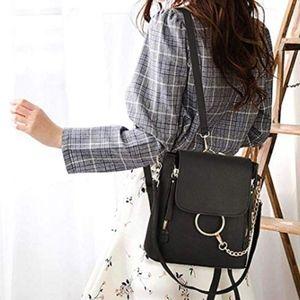 Khole Small PU Chain Backpack